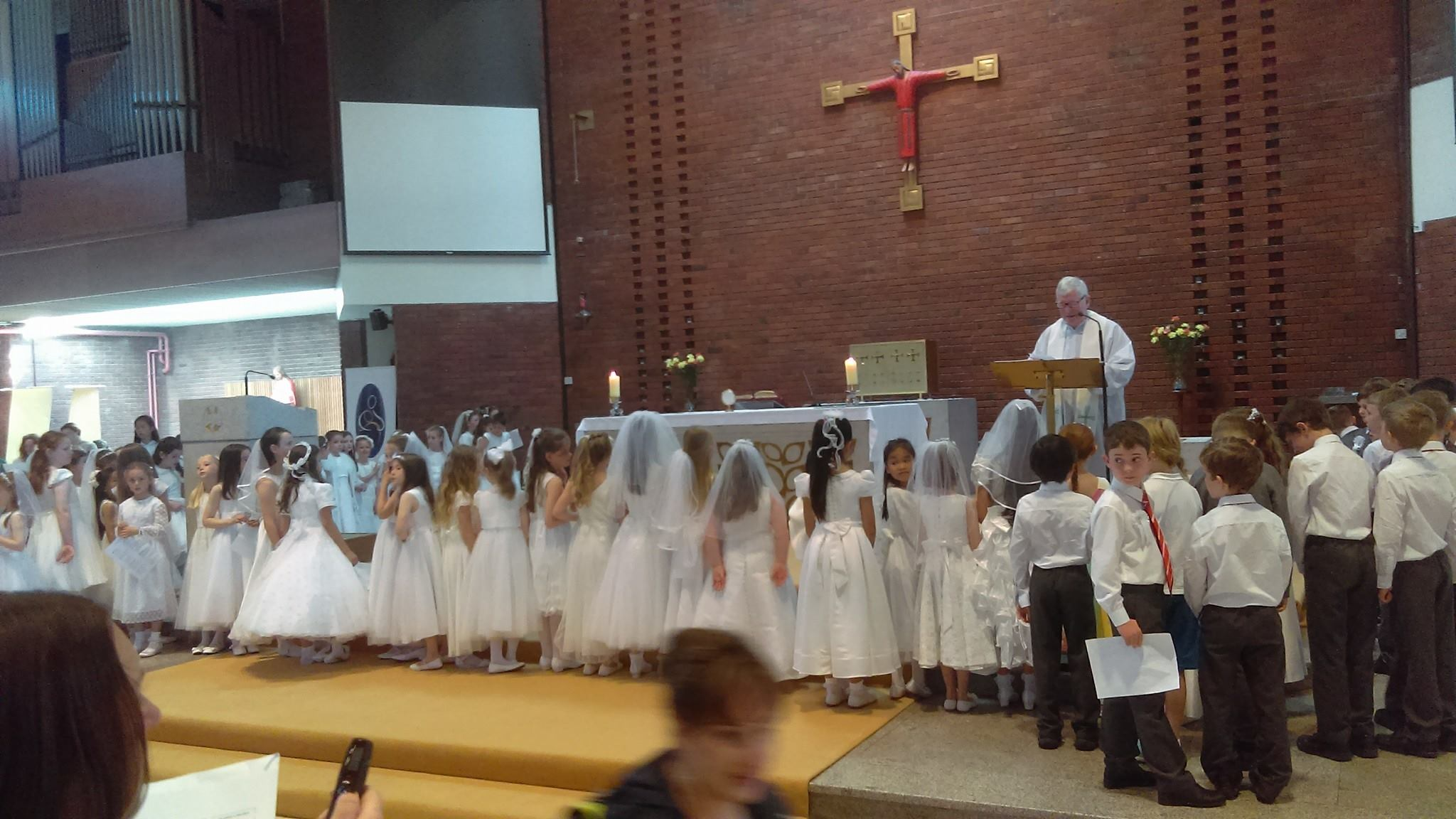 Kilmacud Parish First Holy Communion
